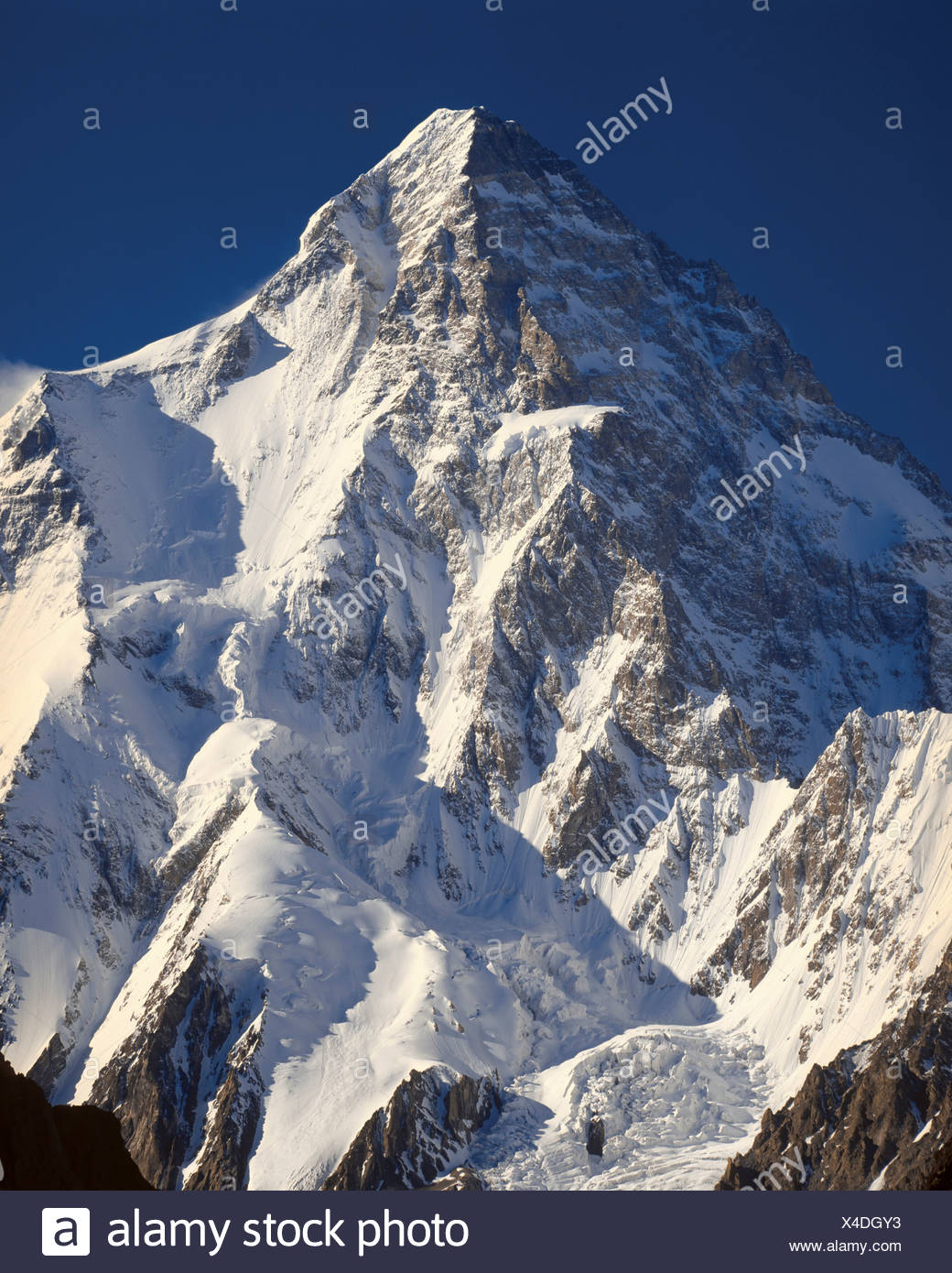 K2 The World S Second Highest Mountain Stock Photo Alamy
