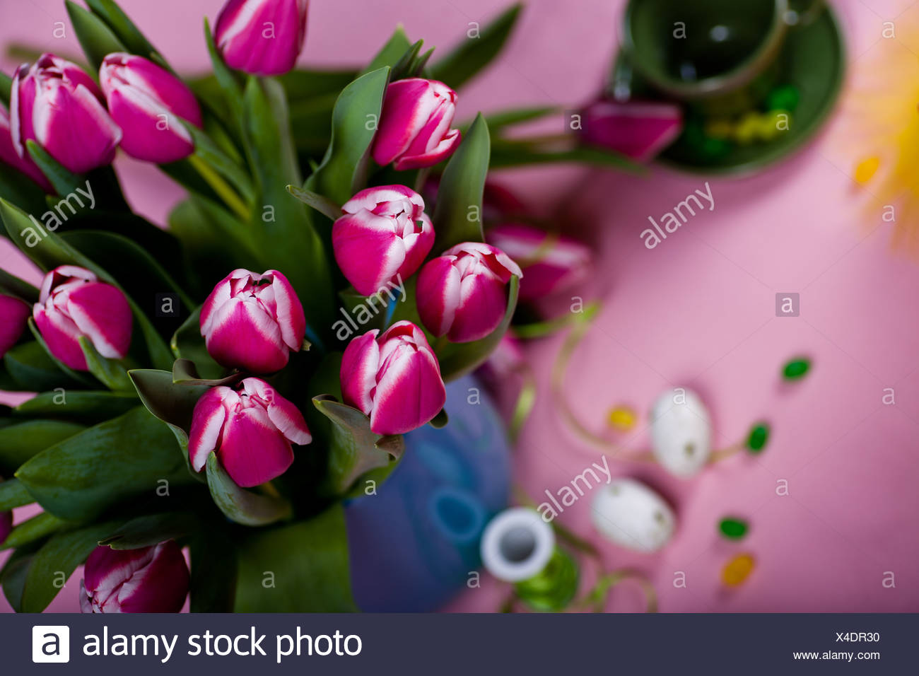 easter installation - Stock Image