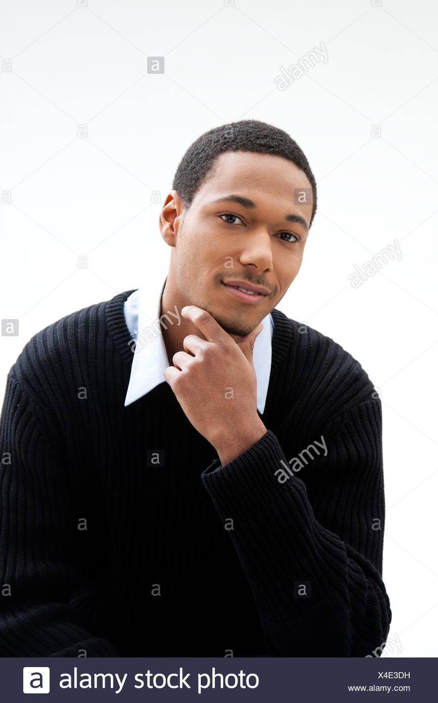 Handsome man - Stock Image