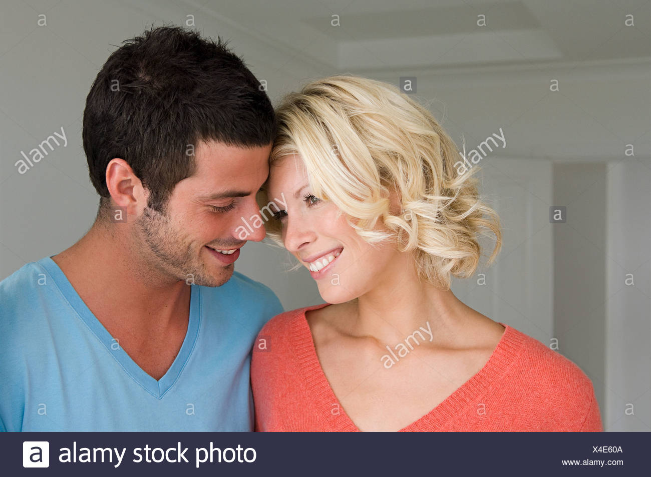 Intimate couple - Stock Image