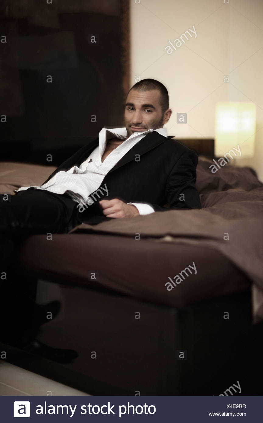 the morning after - Stock Image
