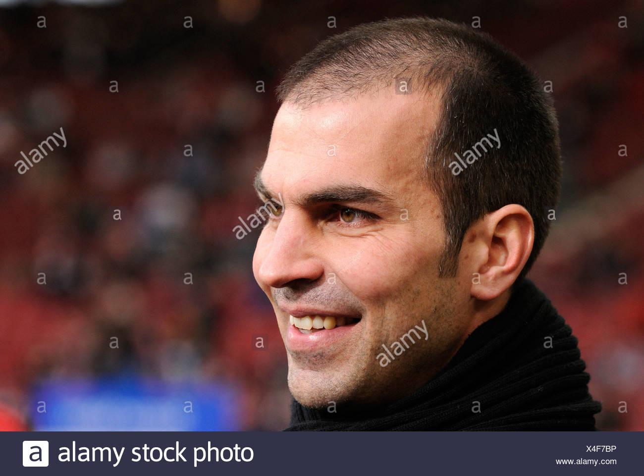 Manager coach Markus Babbel, VfB Stuttgart, Portrait - Stock Image