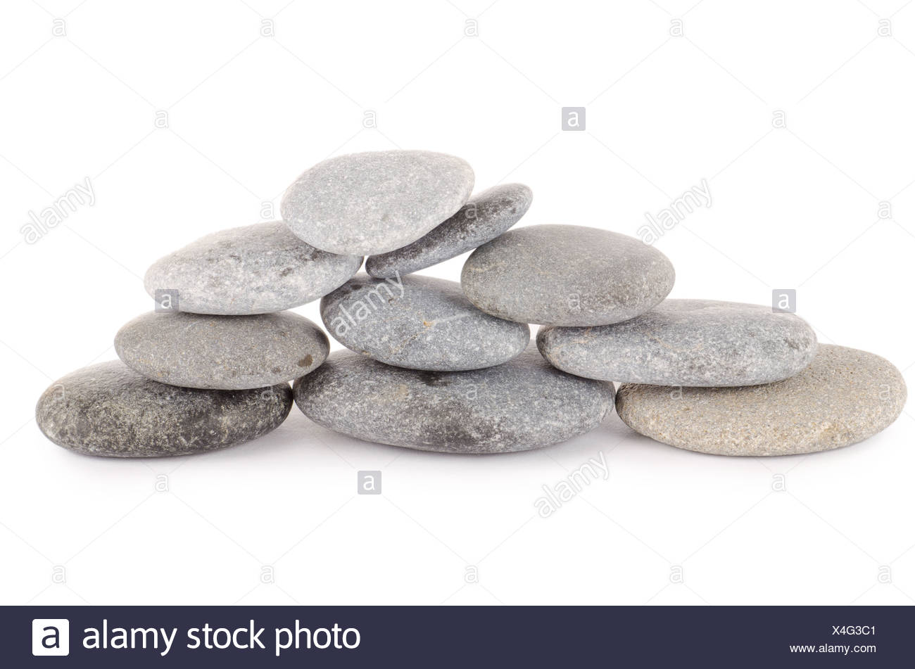 Group of stones - Stock Image