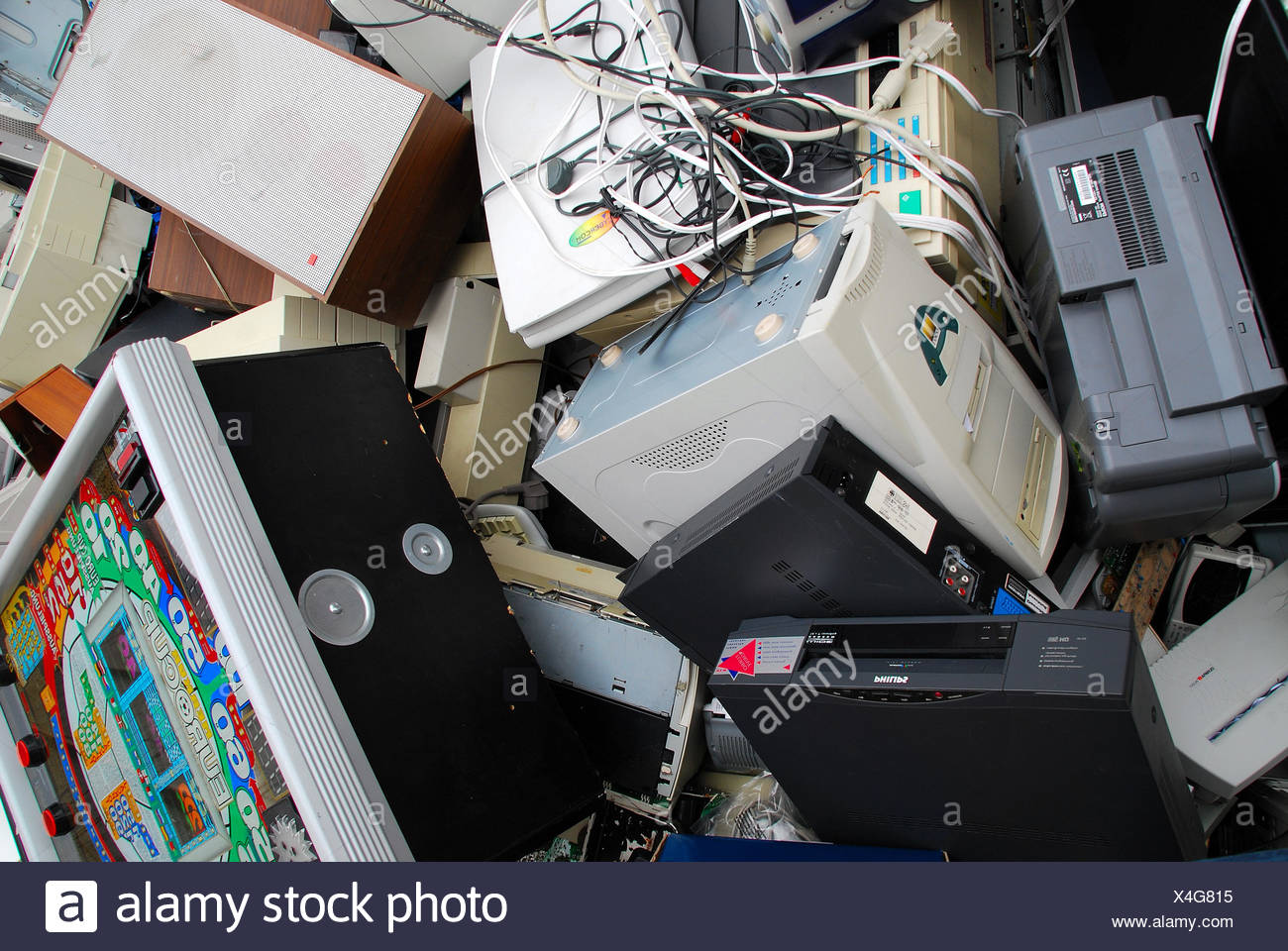 Recycling 080716 5 Stock Photo