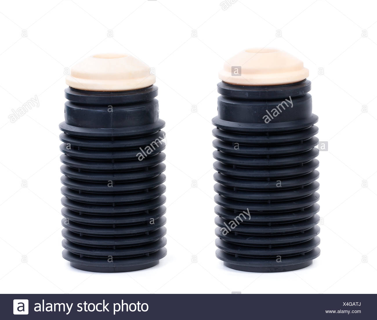 Anther set for shock absorbers. Stock Photo
