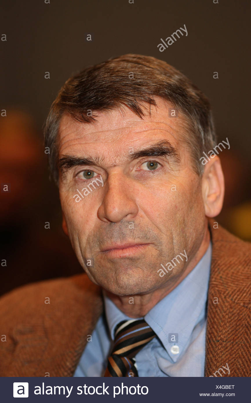 Ulrich Klaus, Assistant Chairman of competitive sport in the LSB Rhineland-Palatinate - Stock Image