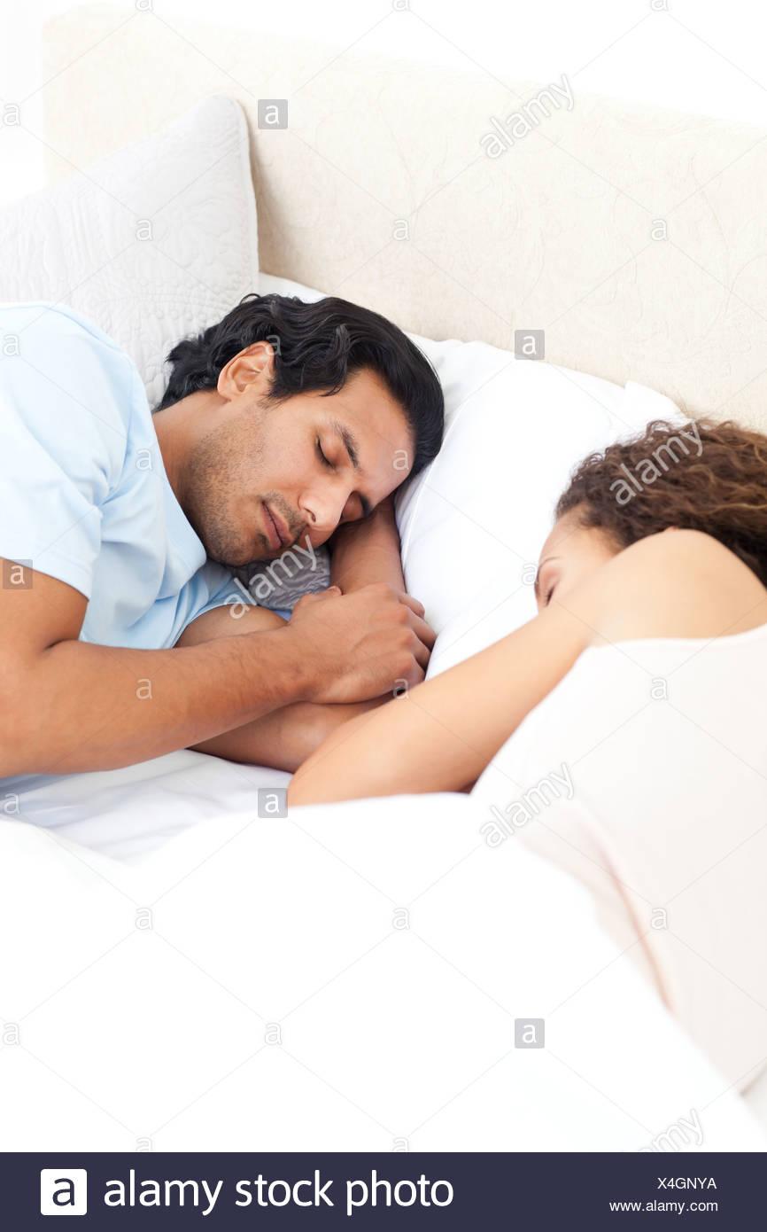 Cute couples sleeping together Couple sleeping