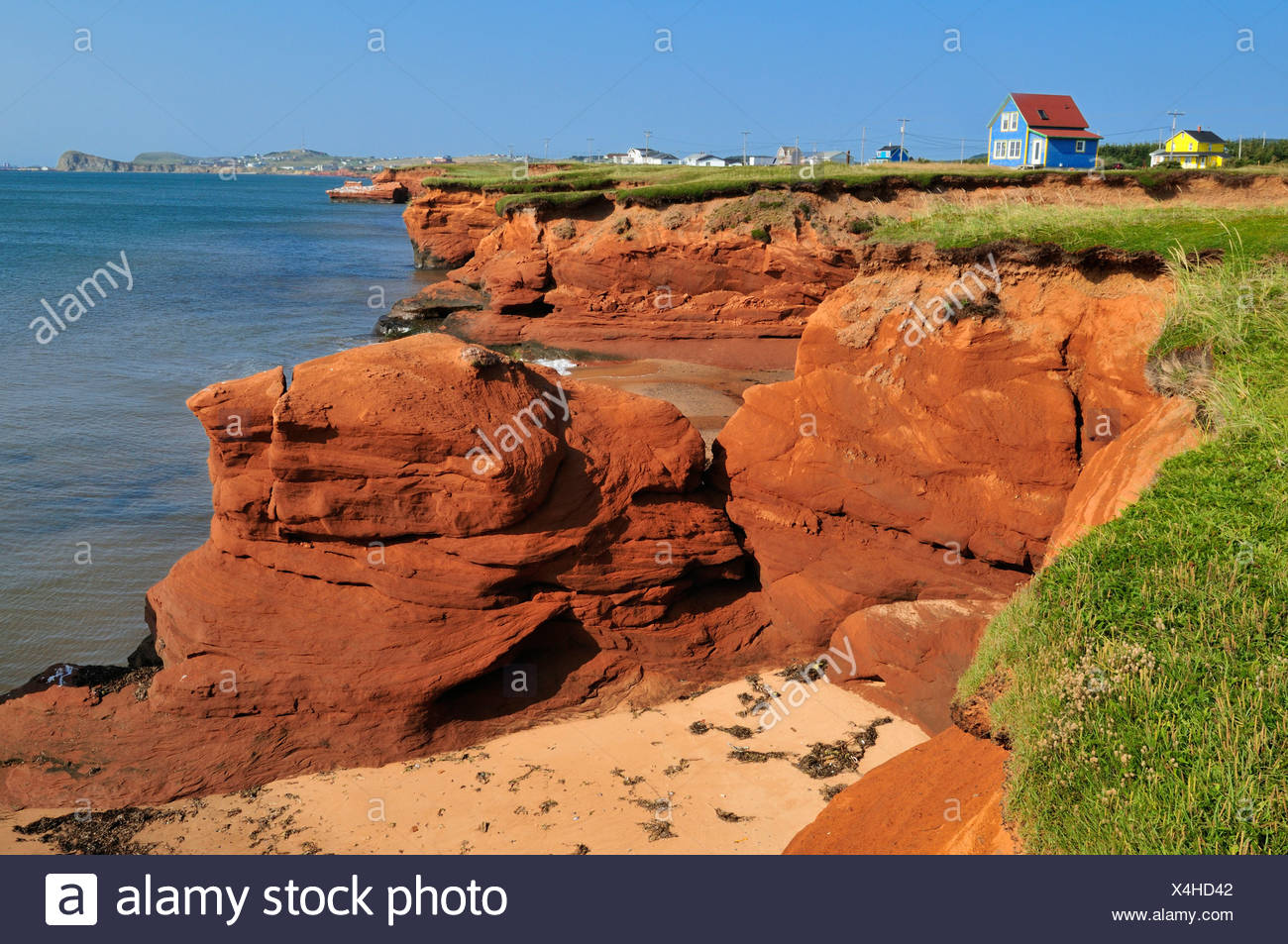 Magdalen Islands Gulf Of St Lawrence Quebec Canada