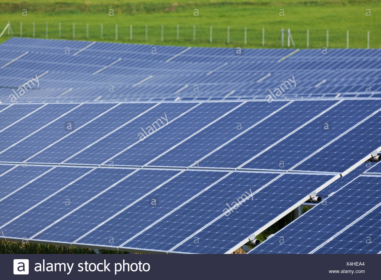 solar,photovoltaic system - Stock Image