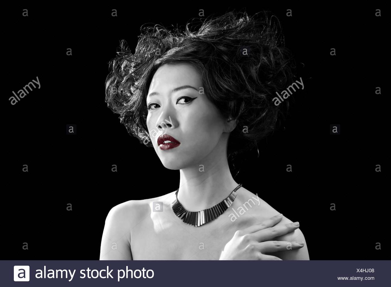Beautiful bare asian women