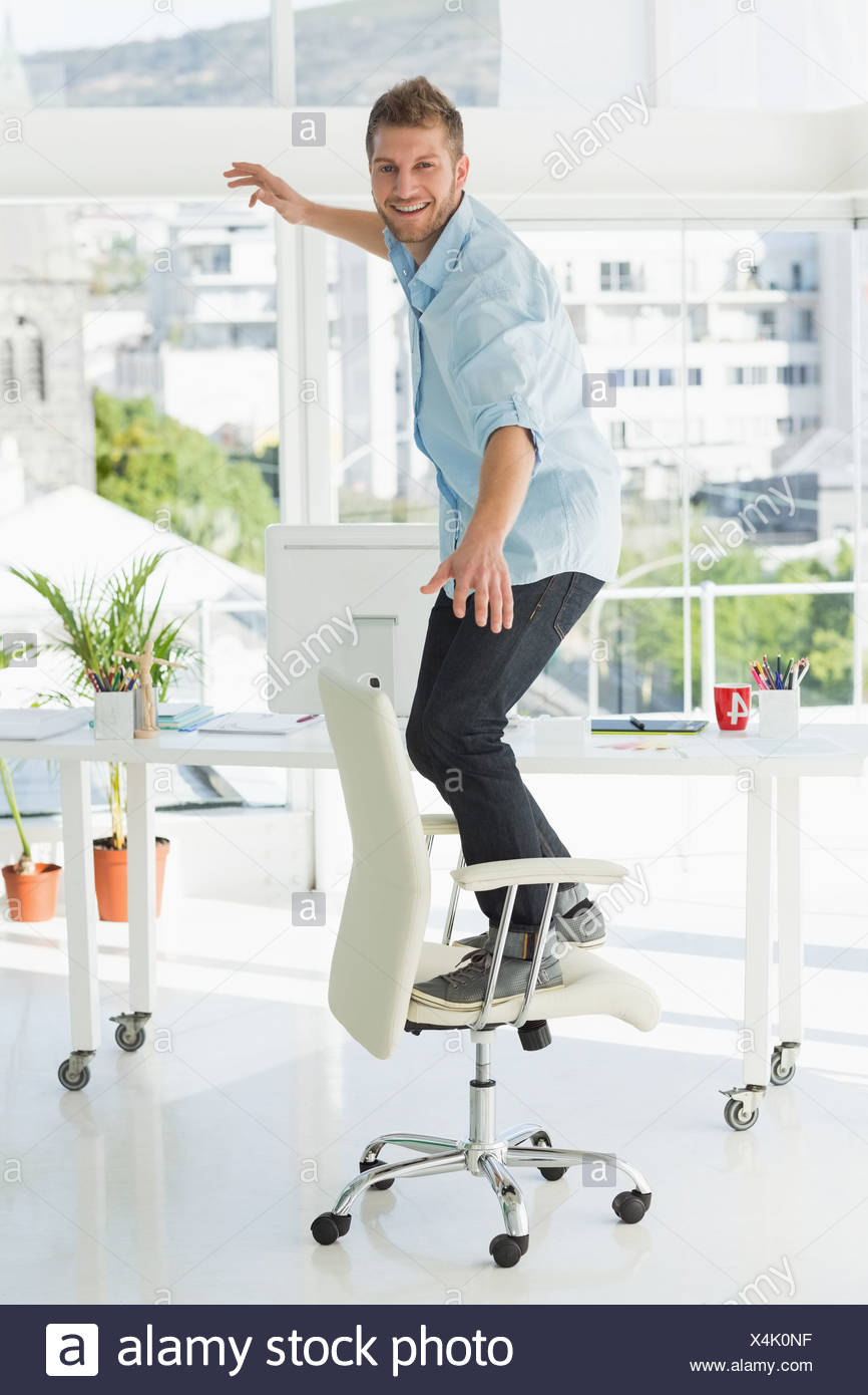 Incredible Designer Surfing On His Office Chair Stock Photo 278242203 Pabps2019 Chair Design Images Pabps2019Com