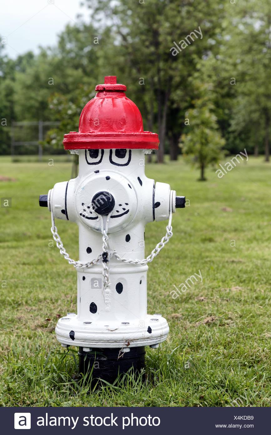Decorative Fire Hydrant - Stock Image