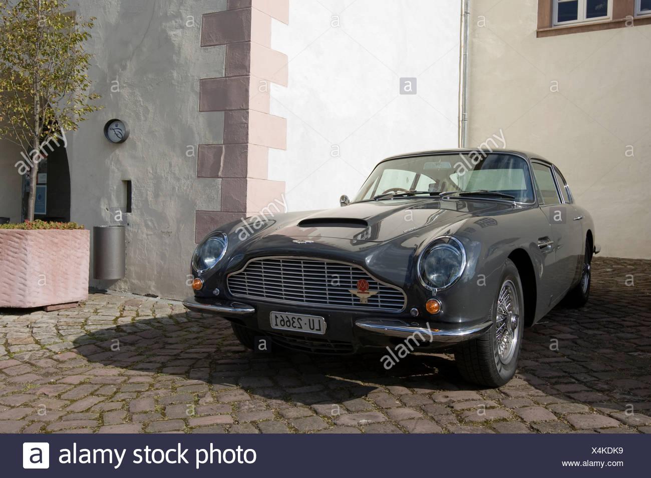 Aston Martin DB6, Aston Martin Meet, Lower Saxony, Germany, Europe - Stock Image