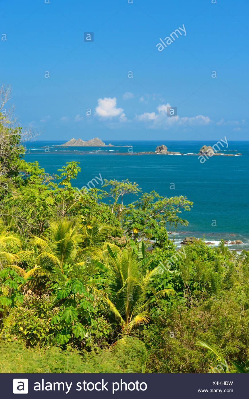 Central America, Costa Rica, Puntarenas, coast, pacific, tropical, landscape, nature, Puntarenas, Stock Photo