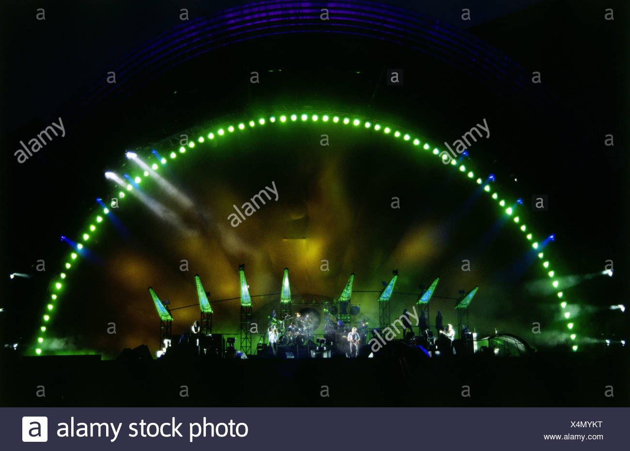 Pink Floyd, British popmusic band, founded 1965, concert at Olympic Stadium, Munich, Germany, 1994, Additional-Rights-Clearances-NA - Stock Image