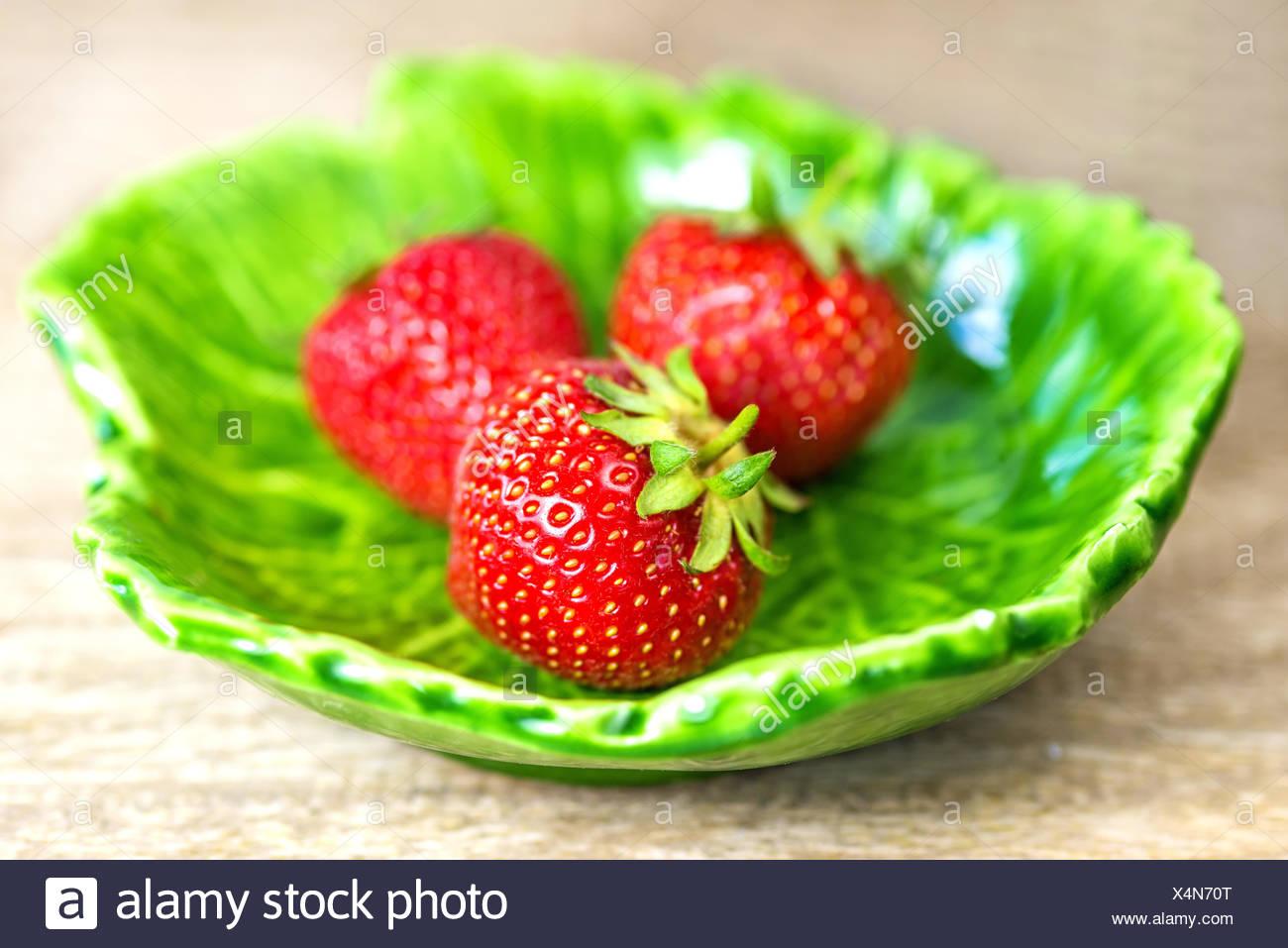 strawberry. - Stock Image