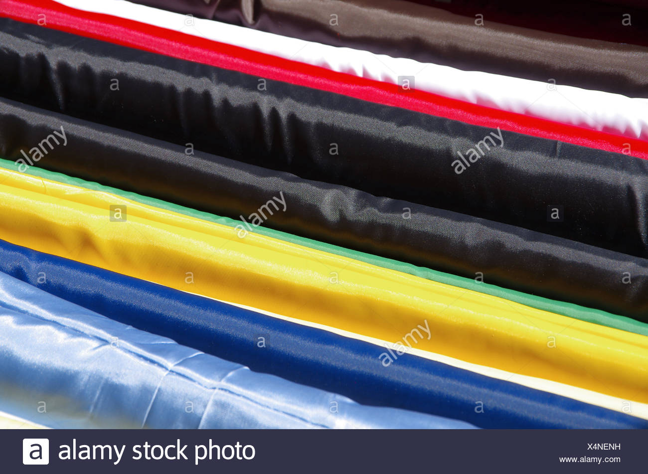 bale of cloths - Stock Image