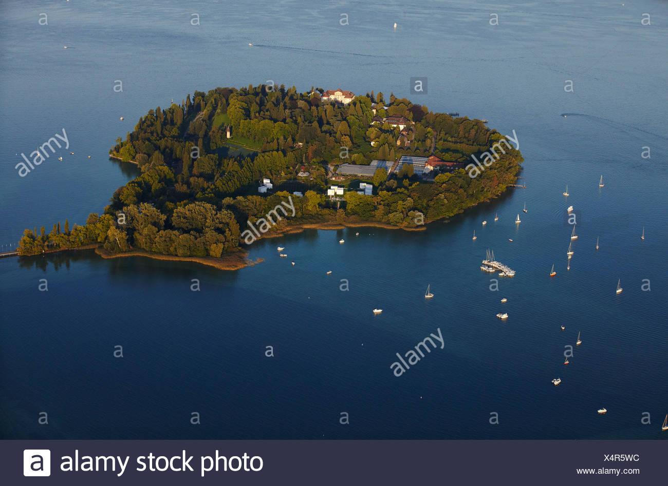 Insel Mainau, Konstanz, Bodensee, Baden-Wuerttemberg, Germany, Europe - Stock Image