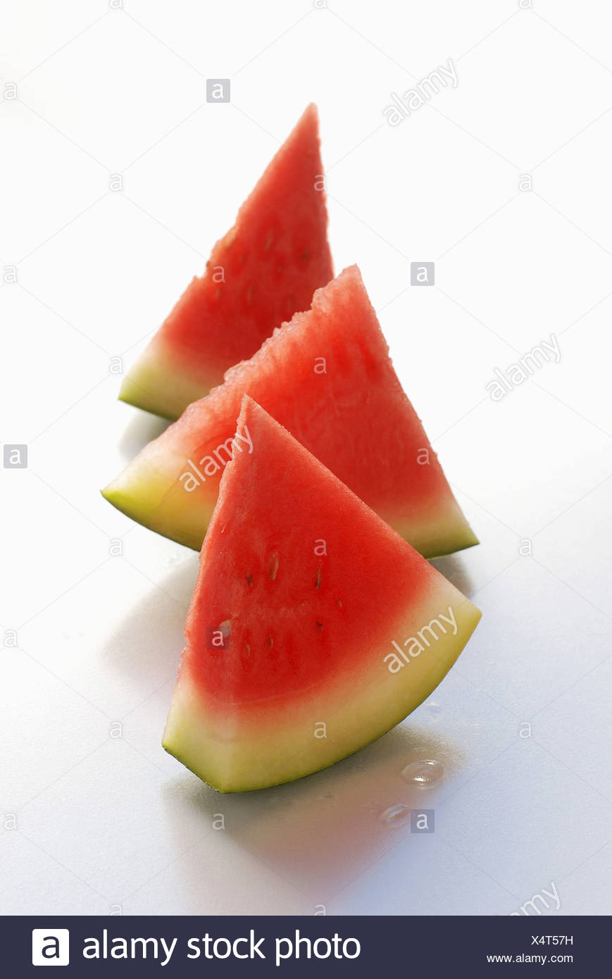 Triangles of watermelon - Stock Image