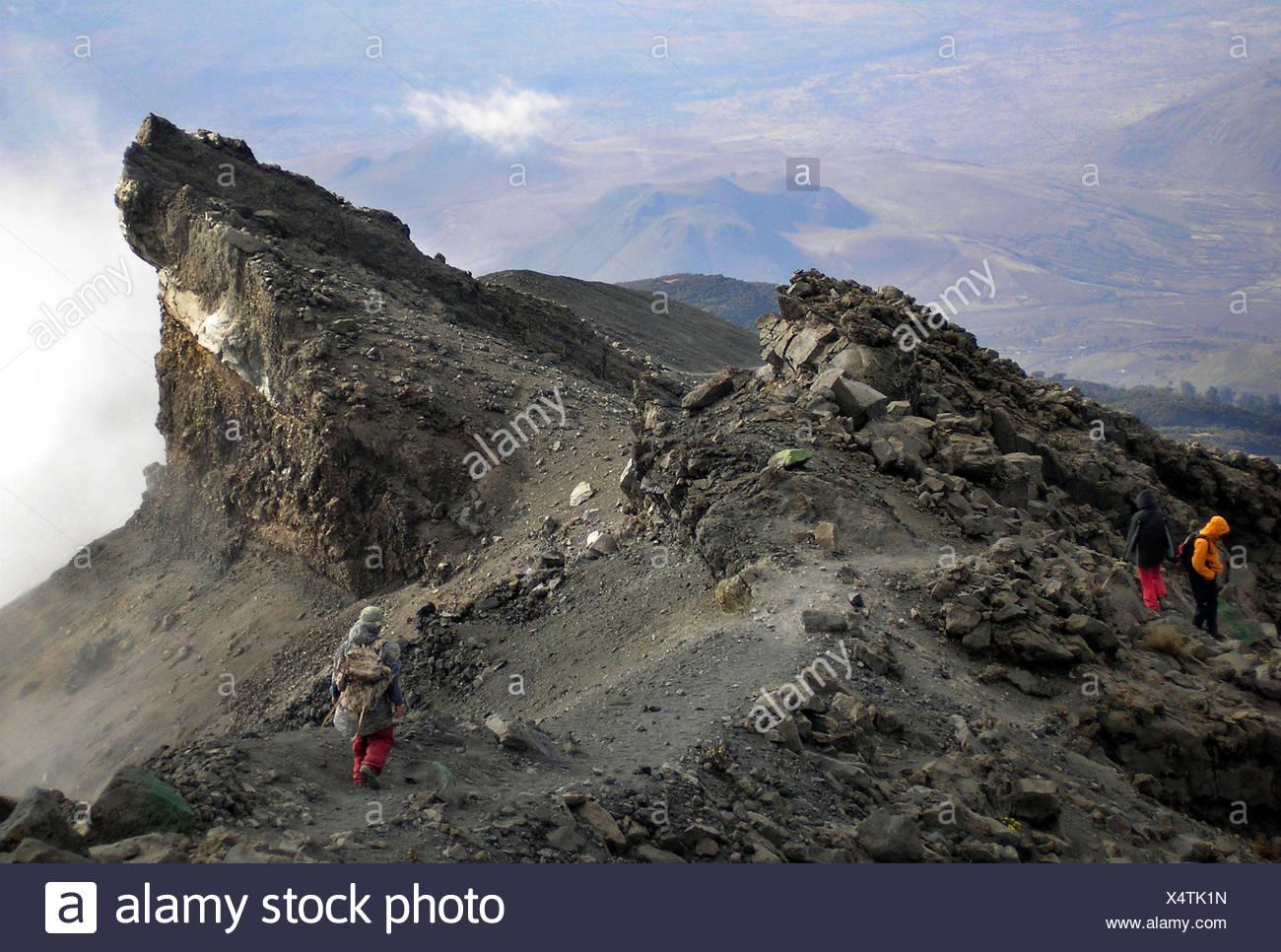 Mt Meru Tanzania Africa - Stock Image