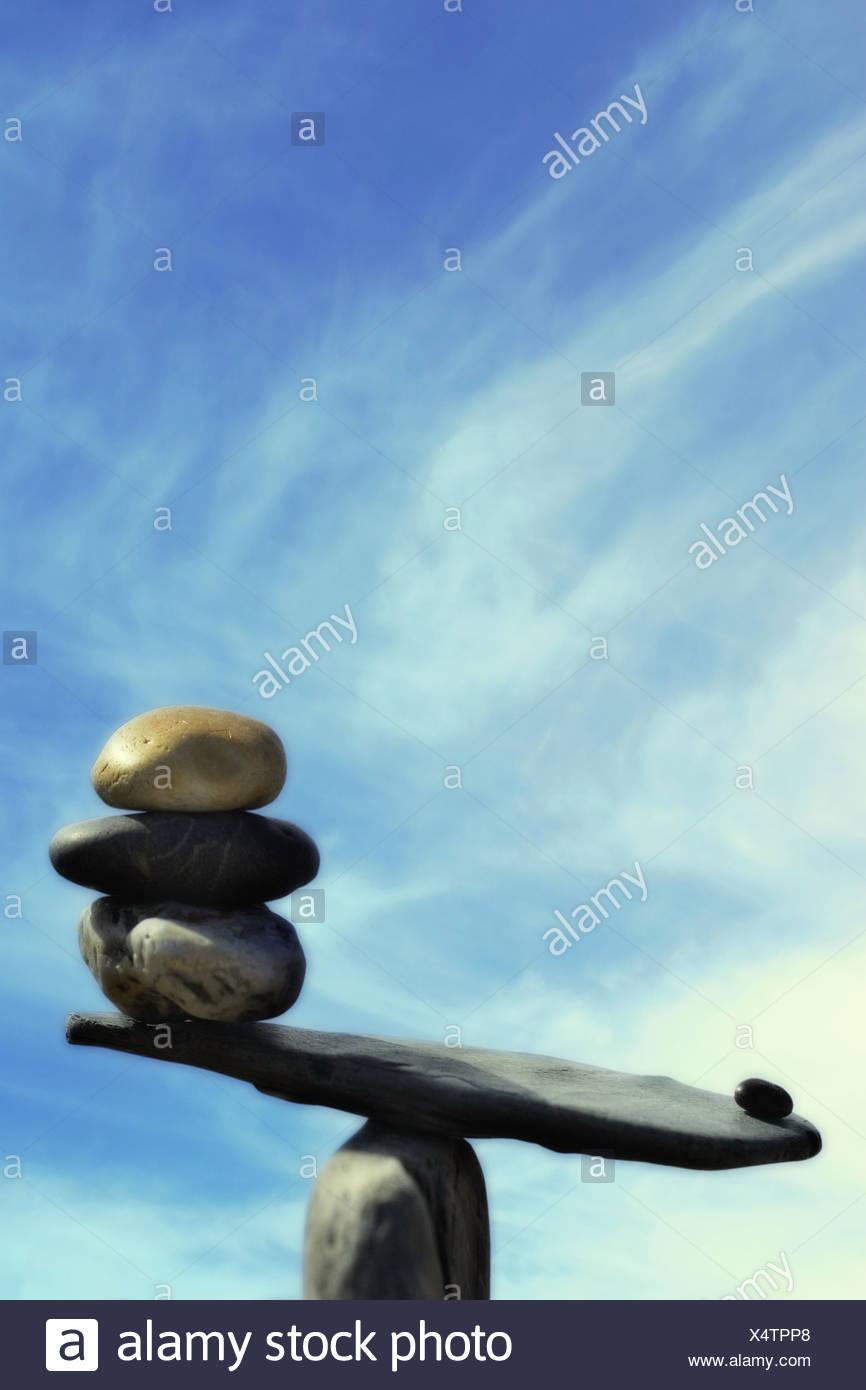 stones - Stock Image