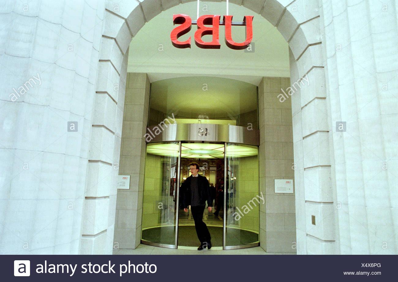 UBS (United Bank of Switzerland) in Zurich, Switzerland - Stock Image