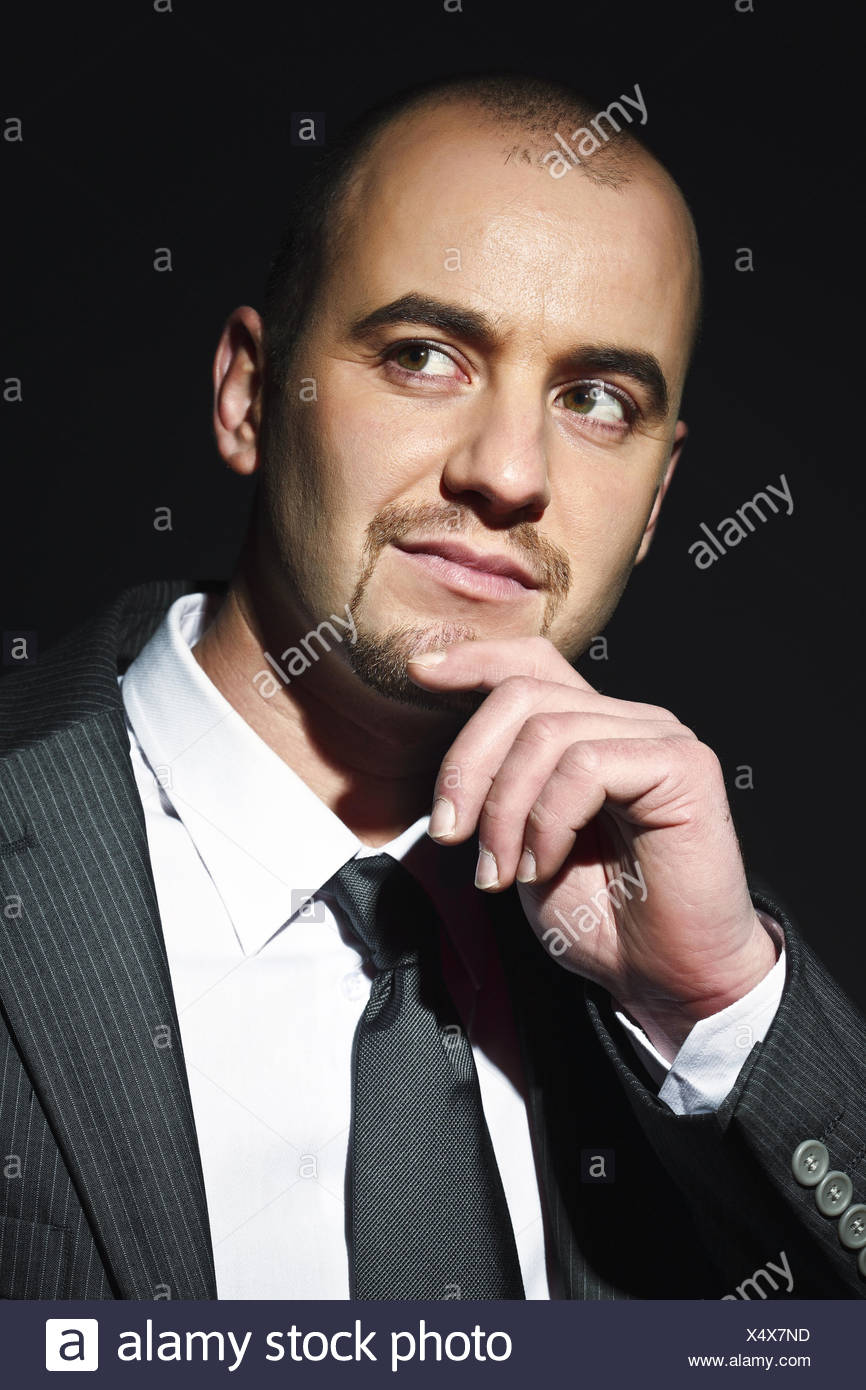 businessman portrait - Stock Image