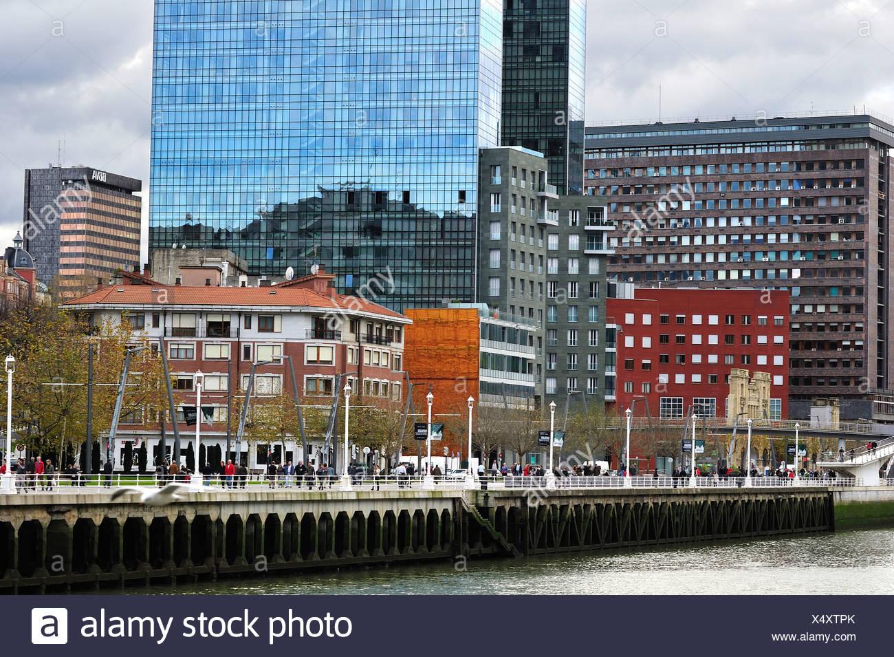 Abando Ibarra, Bilbao - Stock Image