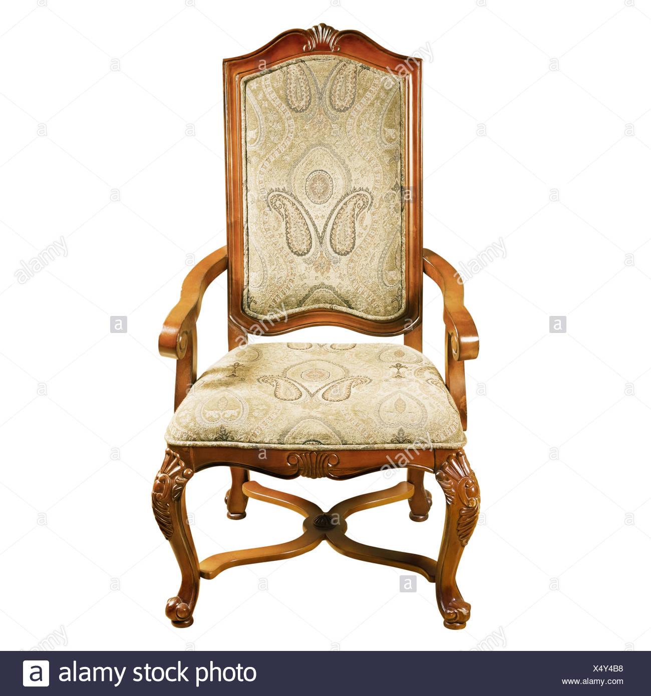 armchair object single - Stock Image