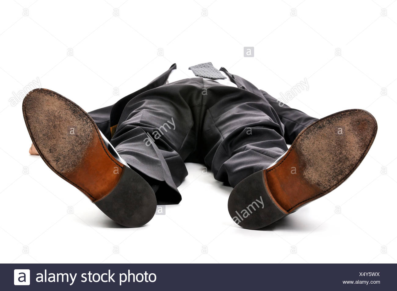 legs shoes feet - Stock Image