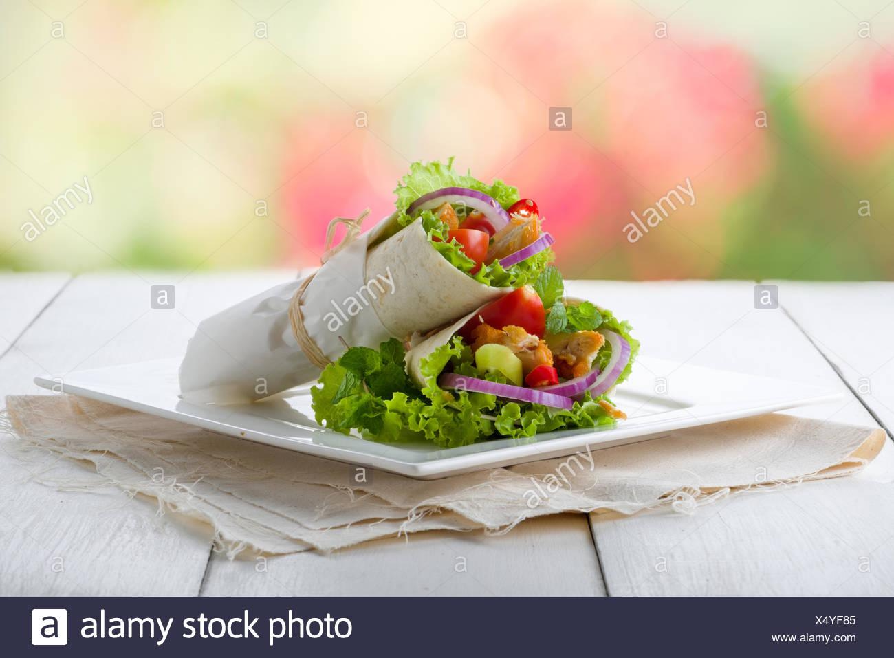 Tortilla Special - Stock Image