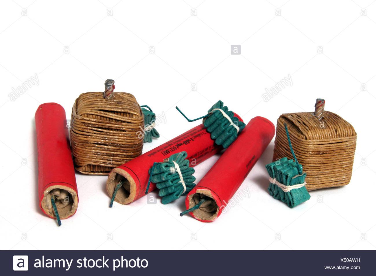 green loud rockets Stock Photo