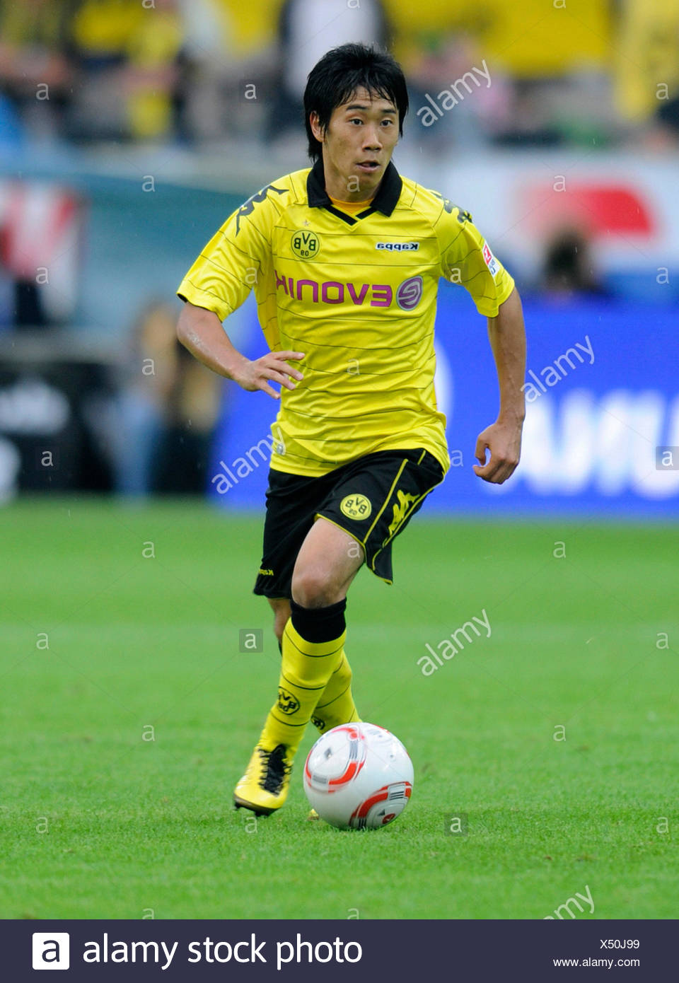 Fussball-Bundesliga, professional association football league in Germany, Season 2010-2011, 1st match of the round, Borussia Stock Photo