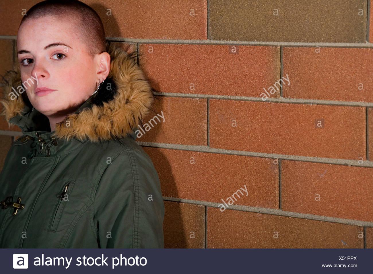 Shaved teen girl