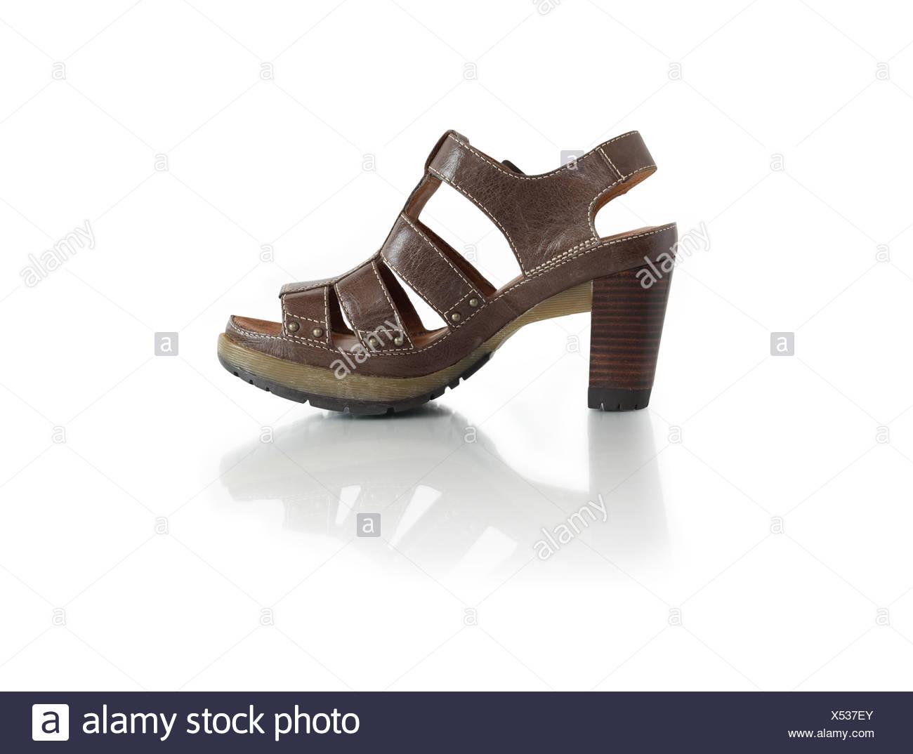 Stylish Female Summer Shoe - Stock Image