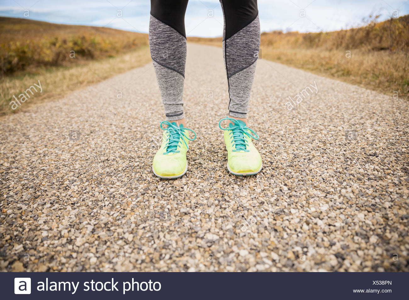 Runners legs - Stock Image