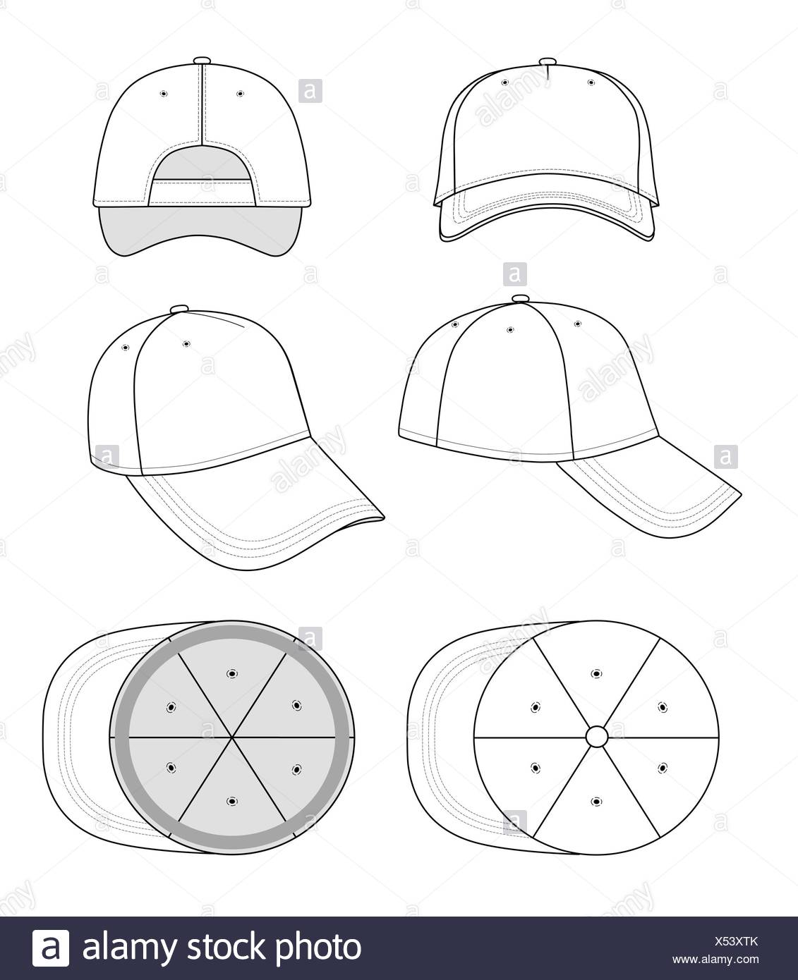 hat template stock photos hat template stock images alamy