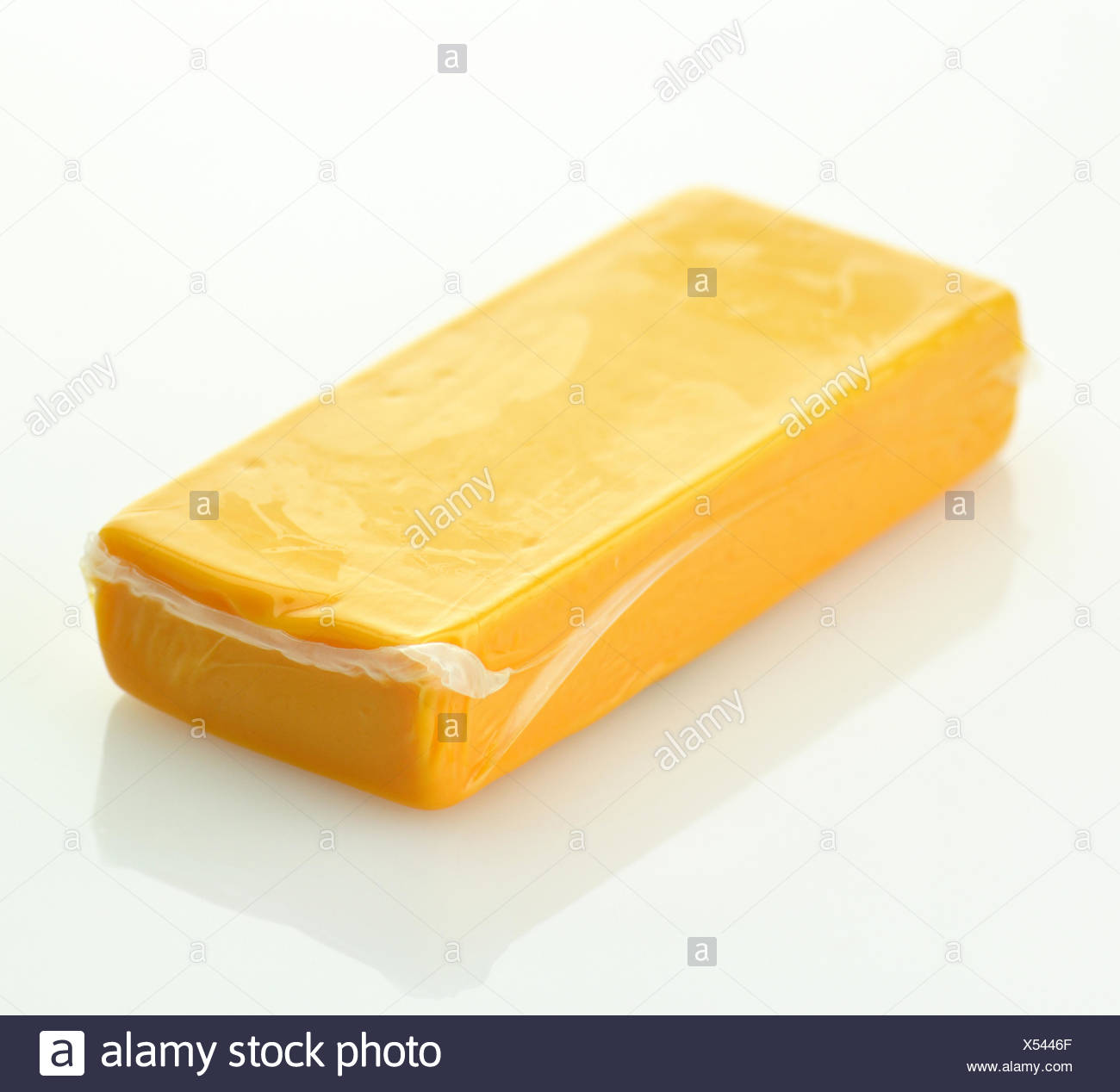 cheddar cheese - Stock Image
