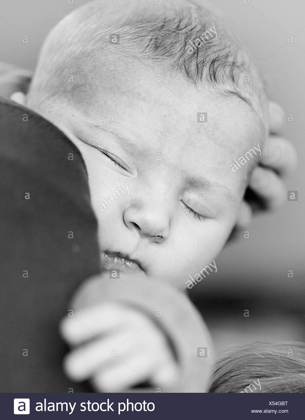 Baby Portrait - Stock Image