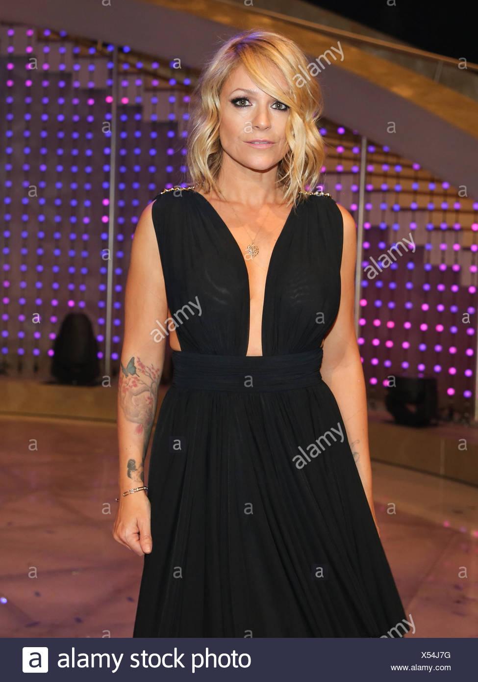 Singer Michelle Stock Photo Alamy