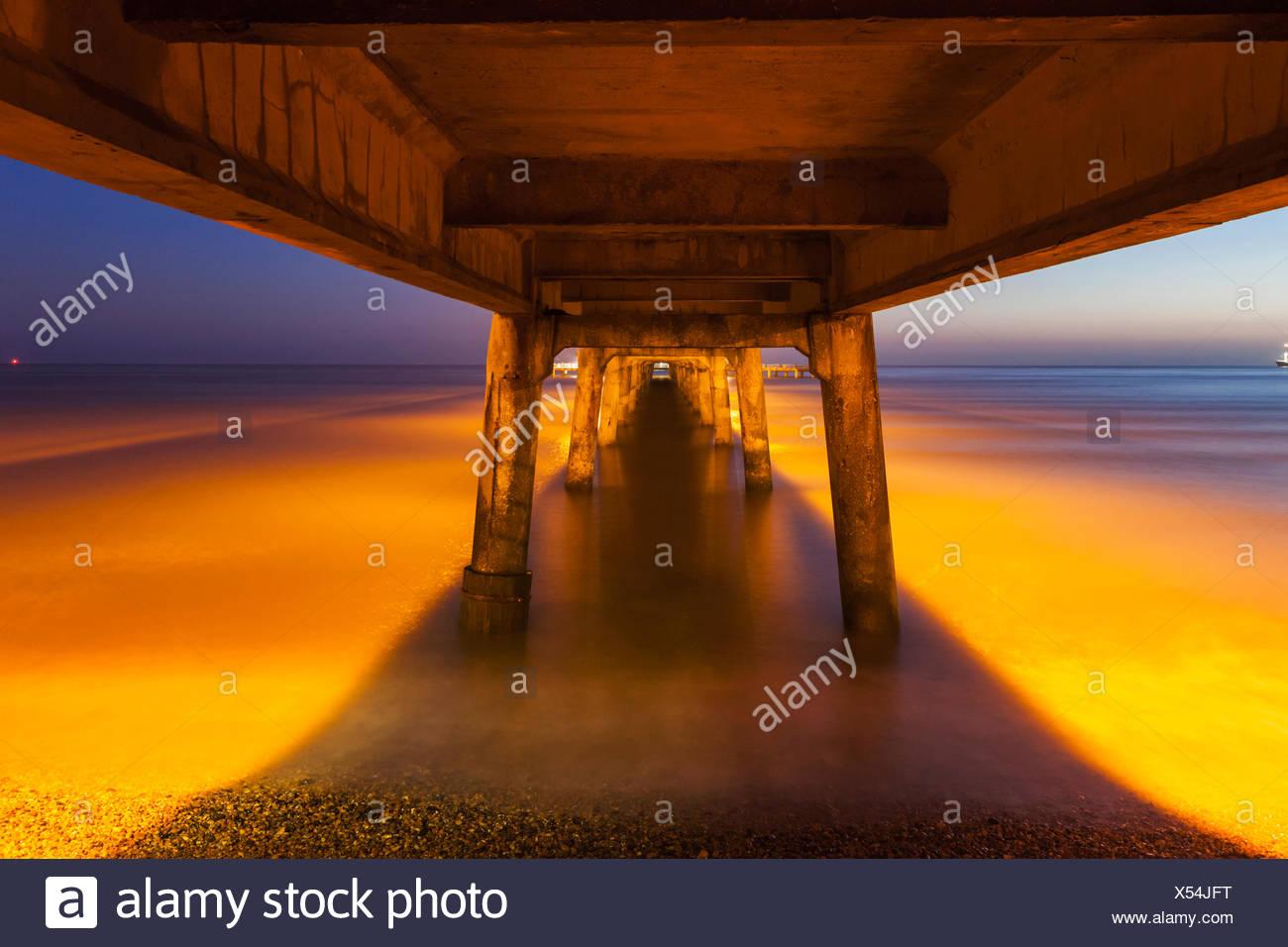 England, Kent, Deal, Deal Pier - Stock Image
