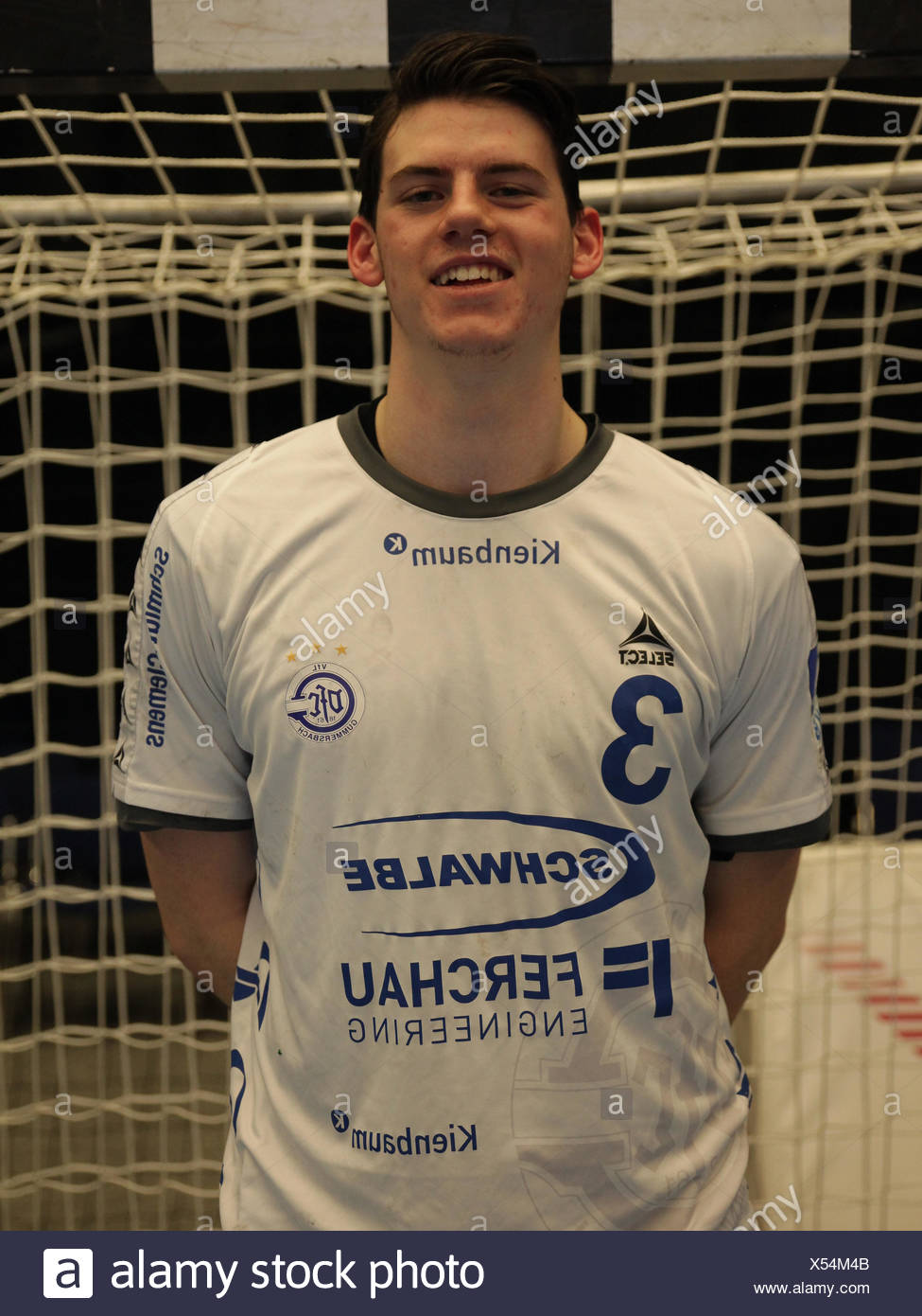 Simon Ernst - VfL Gummersbach - Stock Image