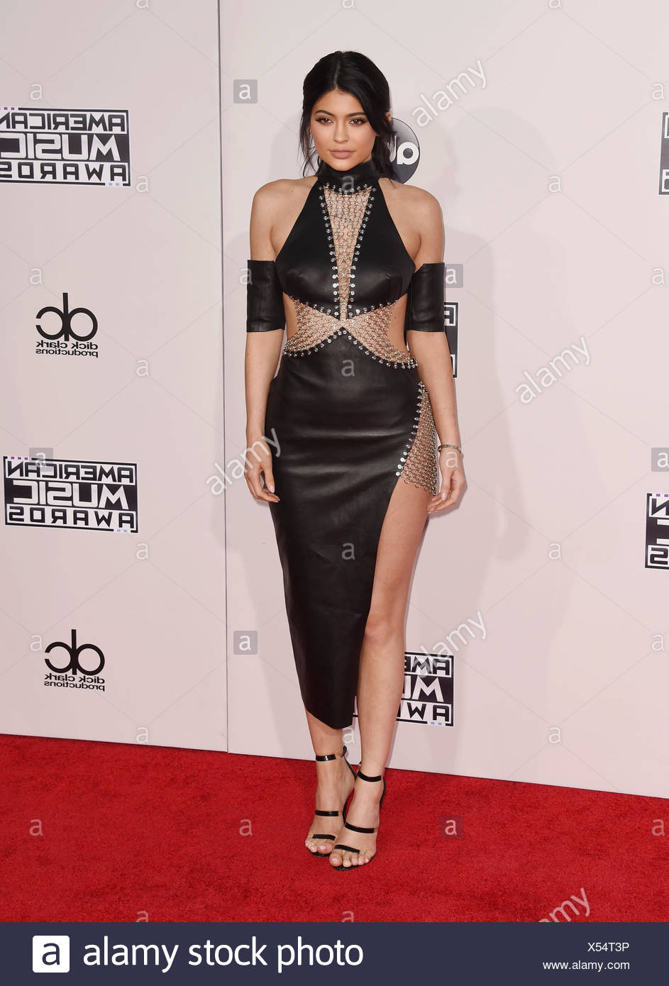 TV personality Kylie Jenner arrives at the 2015 American Music Awards at Microsoft Theater on November 22, 2015 in Los Angeles, California., Additional-Rights-Clearances-NA - Stock Image