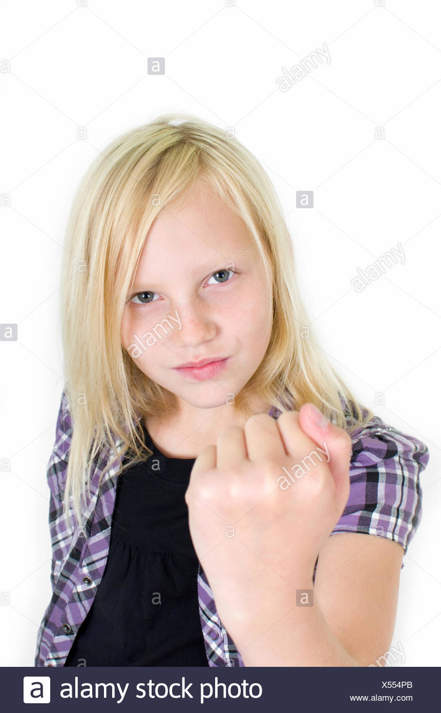 delinquent adolescents Stock Photo