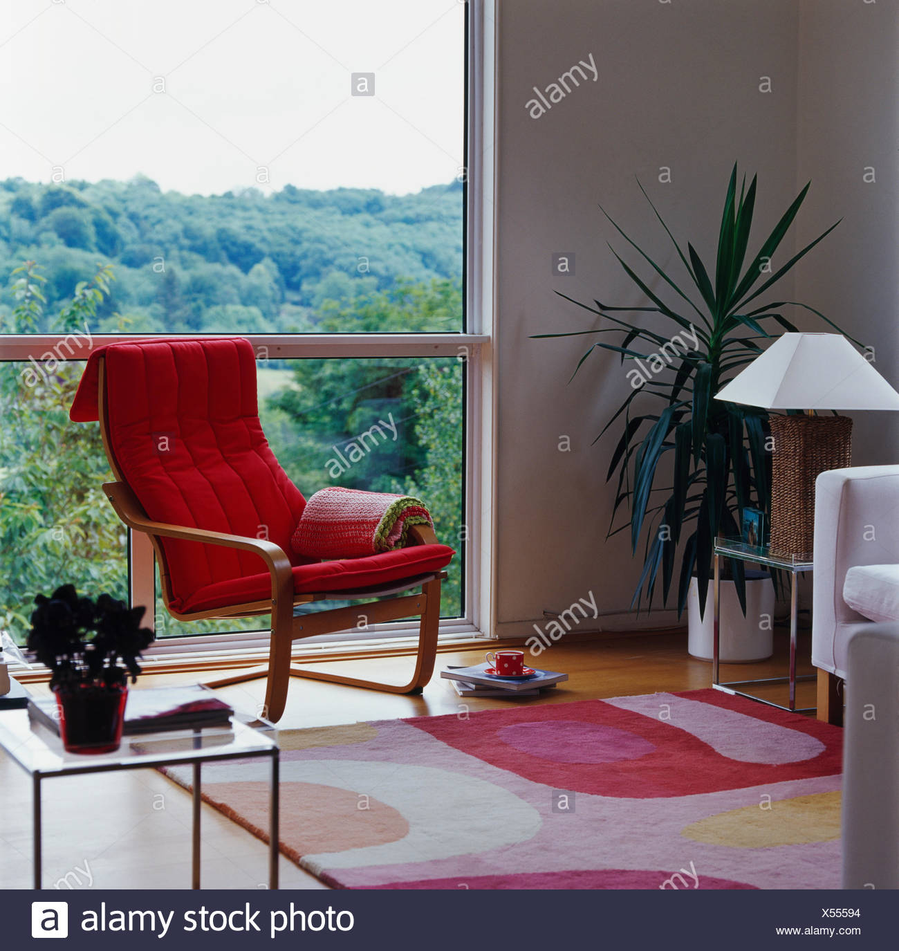 Modern Countryside Living Room Stock Photos & Modern