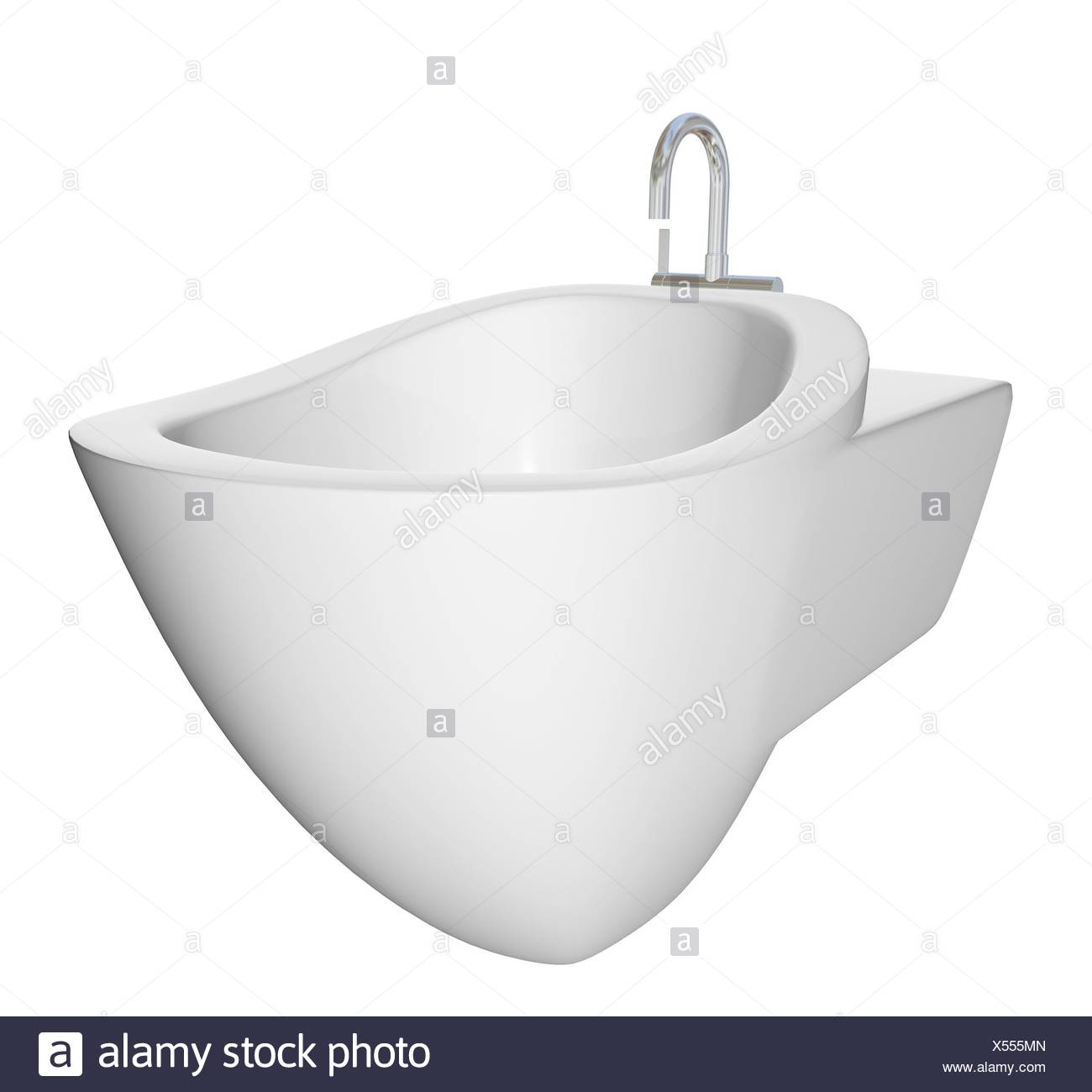 Round bidet design for bathrooms Type of sink intended for washing ...