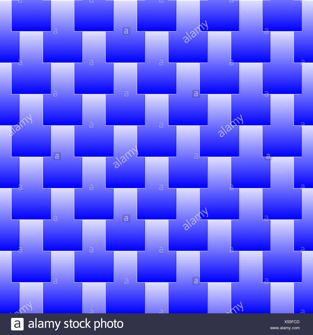 seamless pattern blue scales Stock Photo