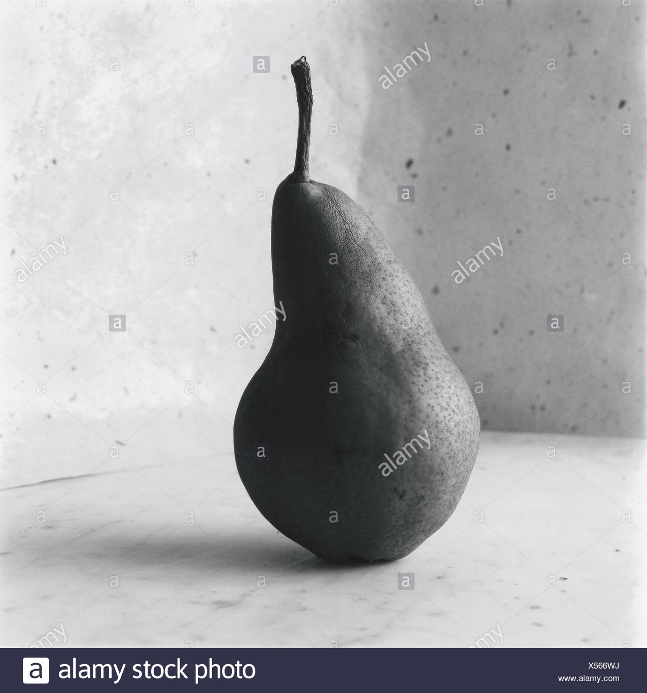 A pear. - Stock Image