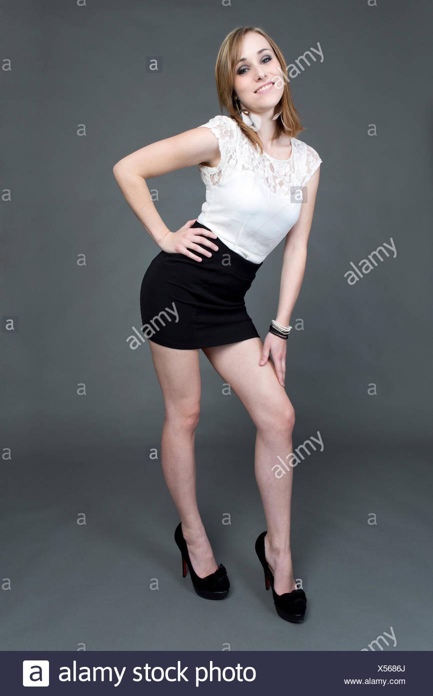 c1576079b6c White Short Mini Skirt Miniskirt Stock Photos   White Short Mini ...
