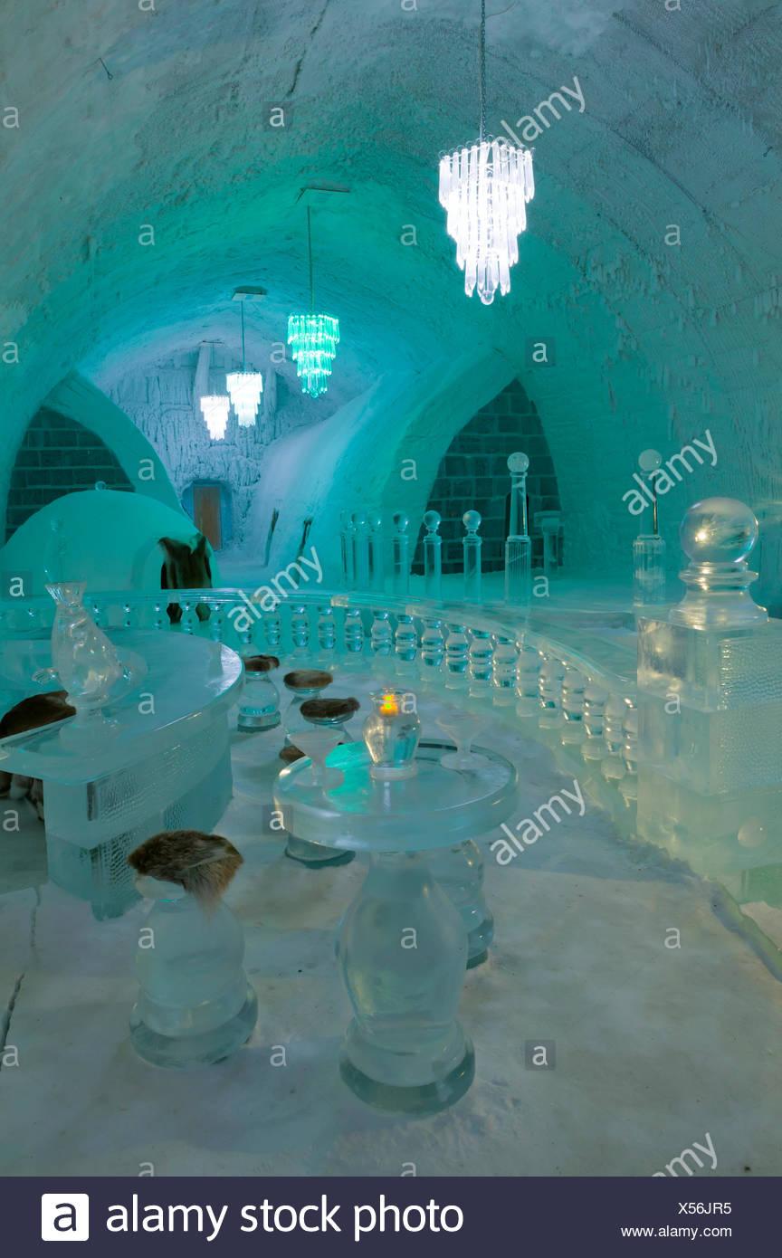 Ice Hotel Alaska Rooms